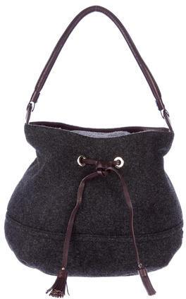 Kate SpadeKate Spade New York Leather-Trimmed Bucket Bag