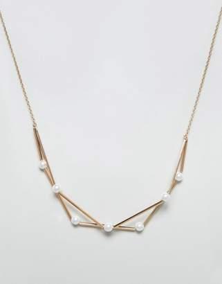 NY:LON Geometric Necklace