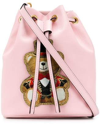 Moschino Teddy Circus bucket bag