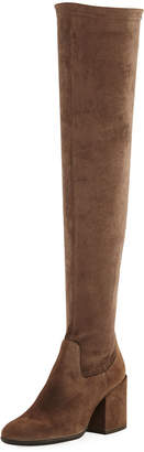 Sesto Meucci Victor Over-the-Knee Suede Boot