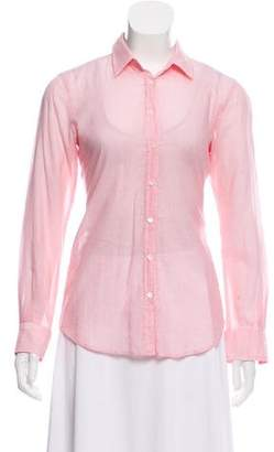 Hartford Long Sleeve Button-Up Top