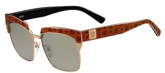 MCM Visetos 56mm Retro Sunglasses