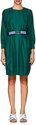 Derek Lam WOMEN'S BELTED COTTON SHIFT DRESS