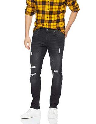 Southpole Men's Flex Ripped Denim