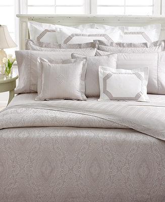 Lauren Ralph Lauren CLOSEOUT! Bedding, Suite Mink Queen Fitted Sheet