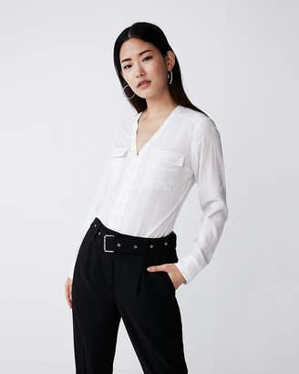 Express Stripe Two Pocket Shirt