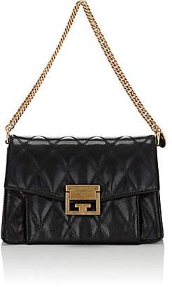 Givenchy Women's GV3 Small Leather Shoulder Bag - Black