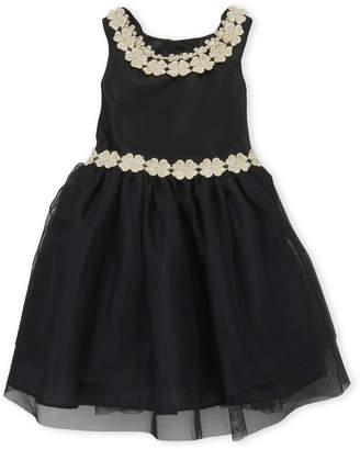 Nanette Lepore Infant Girls) Black Tulle Dress