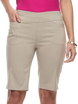 Dana Buchman Women's Pull-On Bermuda Shorts