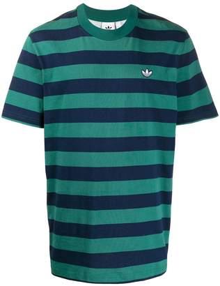 adidas striped T-shirt