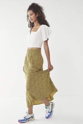 Urban Renewal Vintage Overdyed Floral Skirt