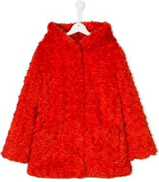 Kenzo TEEN shaggy coat