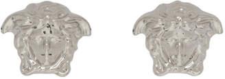 Versace Silver Medusa Stud Earrings