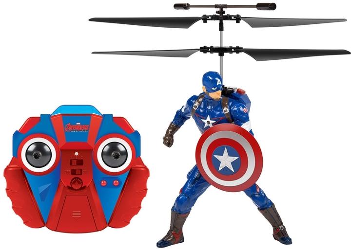 World Tech Toys Avengers: Captain America Flying Figure Helicopter