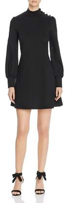 Kate Spade Mock-Neck Ponte Knit Dress
