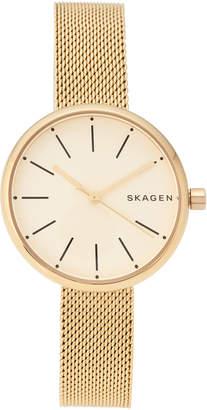 Skagen SKW2614 Gold-Tone Watch