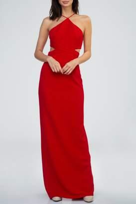 Minuet Cut Out Waist Gown