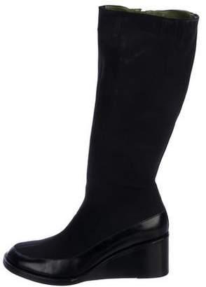 Donald J Pliner Neoprene Knee-High Boots