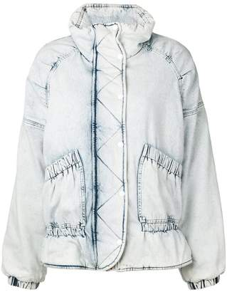 Golden Goose bleached denim jacket