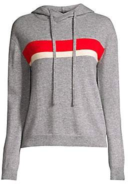 Generation Love Women's Olivia Two Stripe Cashmere Hoodie