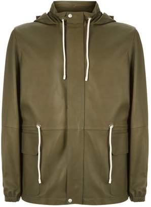 Loewe Leather Hiking Coat
