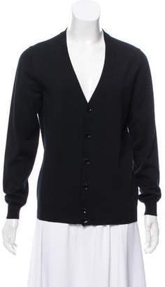 Louis Vuitton Wool V-Neck Cardigan