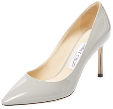 Jimmy Choo Romy 85mm Patent Leather Pump