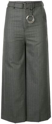 Puma Maison Yasuhiro stripe back wrapped pants