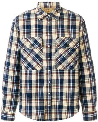 DSQUARED2 lined checked shirt
