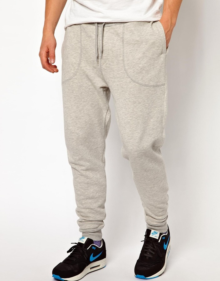 Asos Sweatpants In Heavyweight Fabric