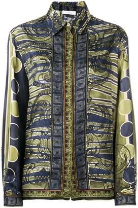 Versace baroc pattern shirt