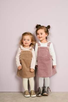 Next Girls Pale Pink Long Sleeve Collar Top (3mths-6yrs)