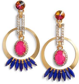 Elizabeth Cole Reese Drop Earrings