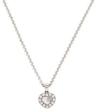 Chopard 18K Happy Diamond Icon Pendant Necklace