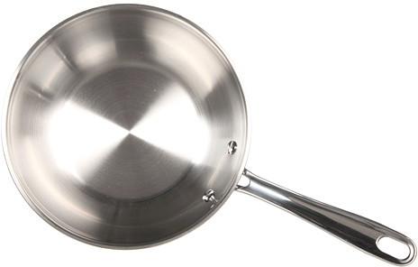 "Emerilware Emeril Chef's Stainless 8"" Fry Pan"