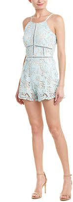 Just Me Lace Romper