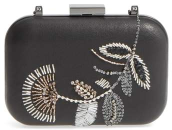 Vince Camuto Almus Leather Minaudiere