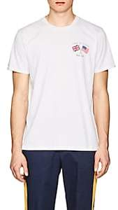 Rag & Bone Men's Flag Cotton T-Shirt - White
