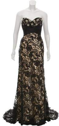 Mac Duggal Lace Evening Gown w/ Tags