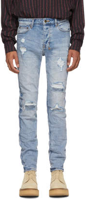 Ksubi Blue Chitch Two Step Jeans