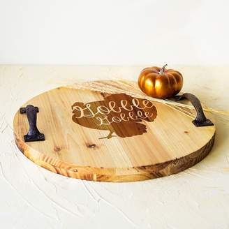 Cathy's Concepts Cathys Concepts Rustic Turkey Serving Tray