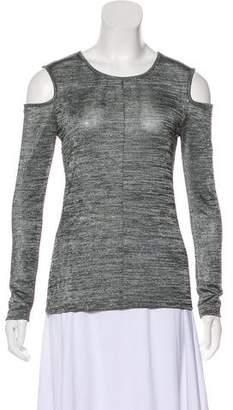 Rag & Bone Long Sleeve Cold Shoulder Top