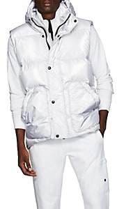 IENKI IENKI Men's Down-Quilted Oversized Vest - Silver