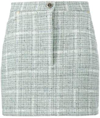 Natasha Zinko tweed fitted mini skirt