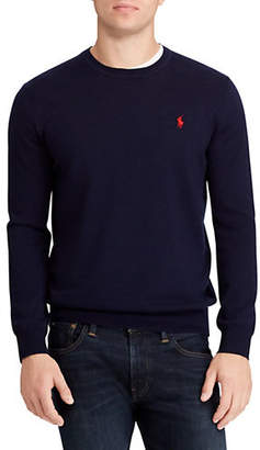 Polo Ralph Lauren Big Tall Logo Merino Wool Sweater