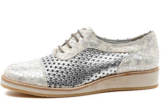 Django & Juliette Cedric Pewter-pewter Shoes Womens Shoes Casual Flat Shoes