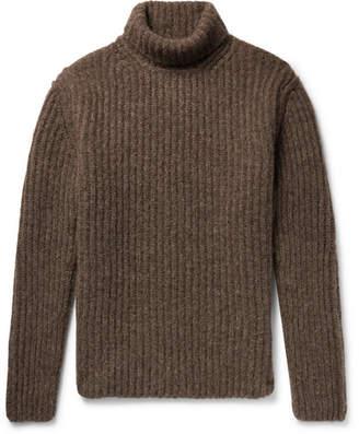 Isabel Benenato Alpaca-Blend Rollneck Sweater