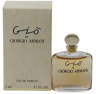 Giorgio Armani Gio by for Women Miniature Collectable Eau De Parfum Splash 0.17oz
