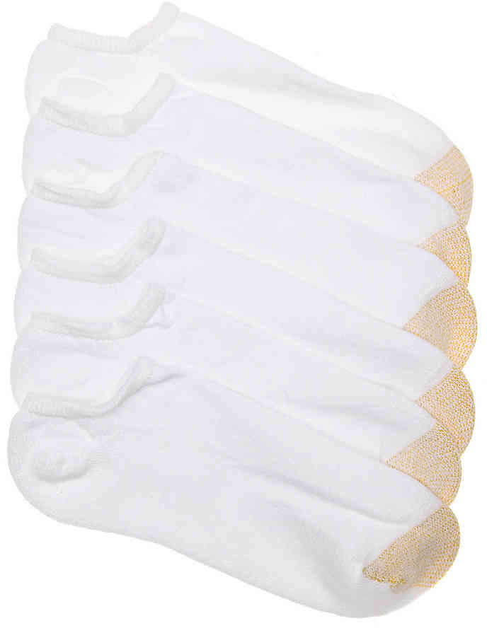 Gold Toe Men's Premier Men's No Show Socks - 6 Pack
