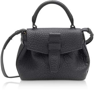 Lancel Charlie Nano Black Full-Grain Satchel Bag